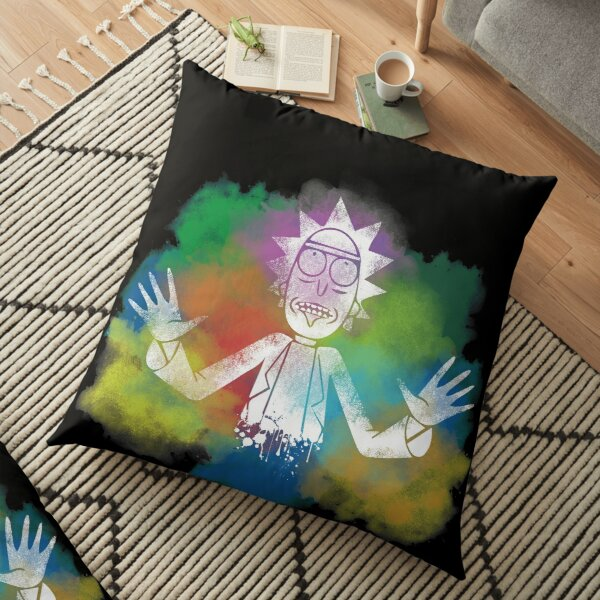 Rick and Morty Floor Pillow