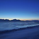 Isfjorden at night by Algot Kristoffer Peterson