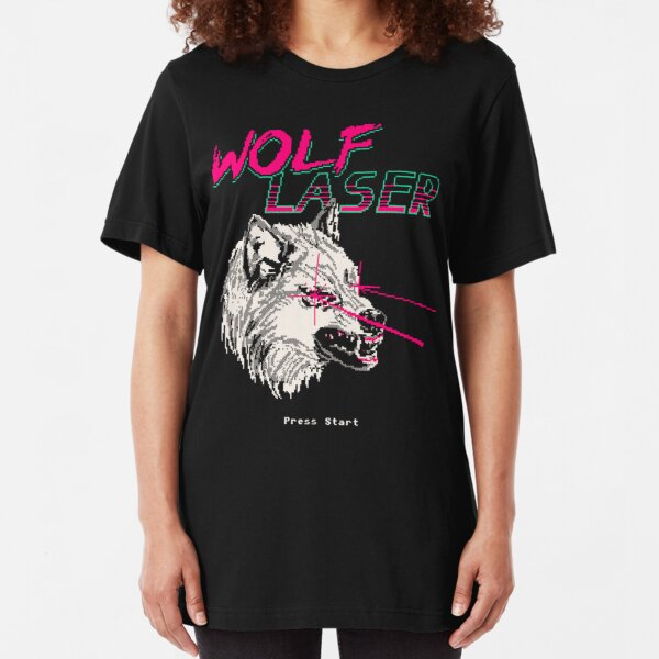 Wolf Laser Slim Fit T-Shirt