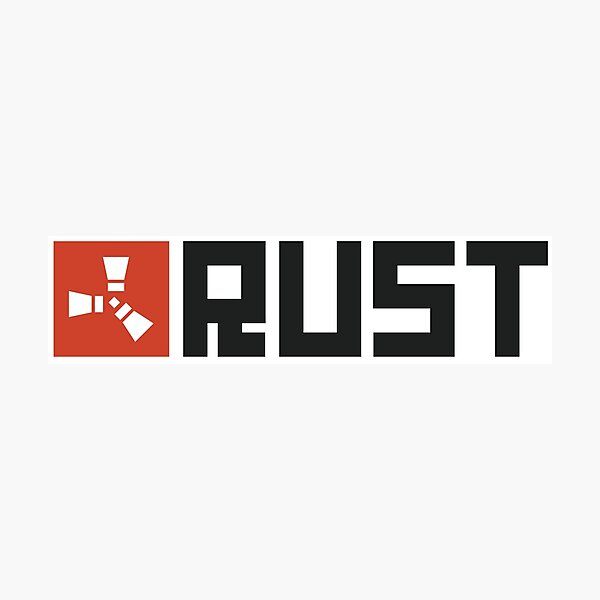 Rust Game Artwork Photographic Print