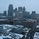 Detroit Rooftops by DeeLishess
