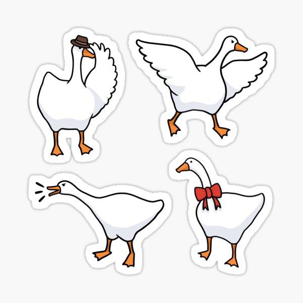 Untitled Goose Sticker Pack Sticker