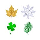Four Seasons: Winter, Spring, Summer, Autumn by M-a-k-s-y-m