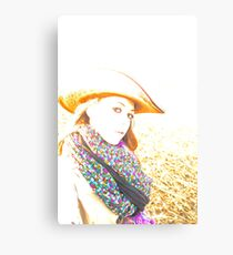 Cowgirl Assistance Canvas Print