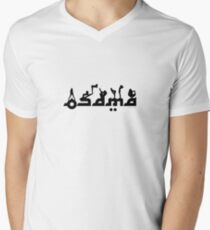 Osama After Hours Mens V-Neck T-Shirt