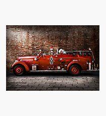Fireman - FGP Engine No2 Photographic Print