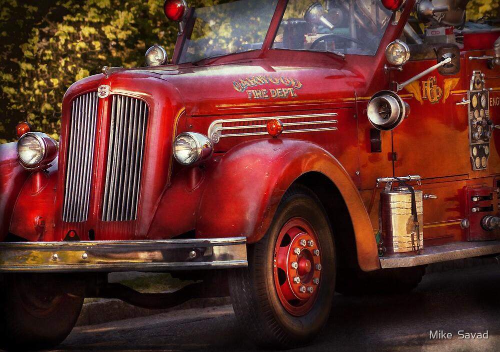 Fireman - The Garwood fire dept by Michael Savad