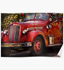 Fireman - The Garwood fire dept Poster