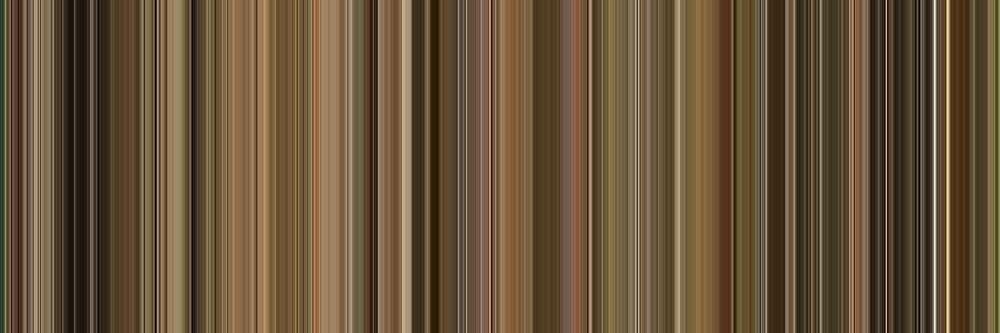 Moviebarcode: Leon: The Professional / Léon (1994) [Simplified Colors] by moviebarcode