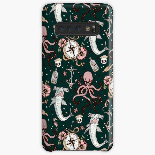 Dark Sea Creature Pattern Samsung Galaxy Snap Case