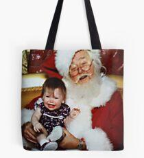Santa Had Too Much Cheer (read story) Tote Bag