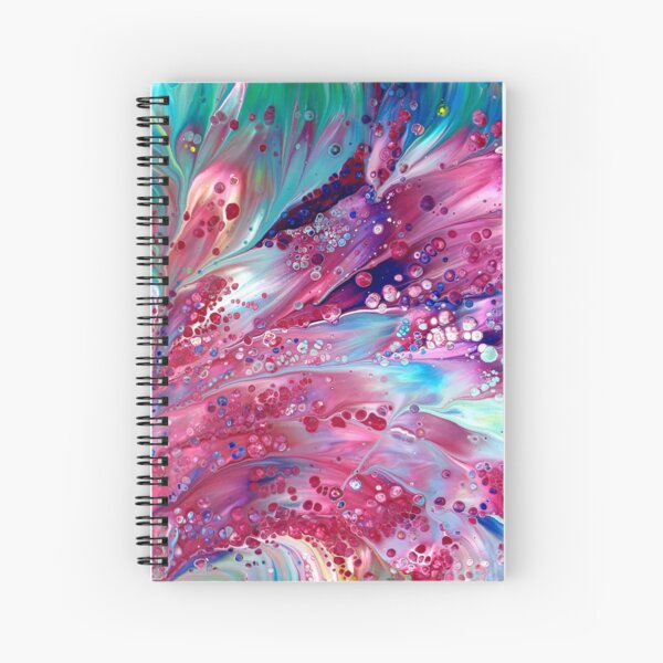 Peacock Spiral Notebook