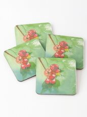 Red Currant Coasters