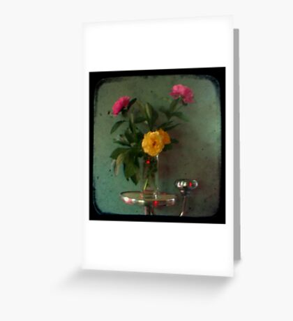 Peonies & Roses - Still Life TTV Greeting Card