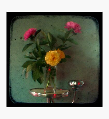Peonies & Roses - Still Life TTV Photographic Print