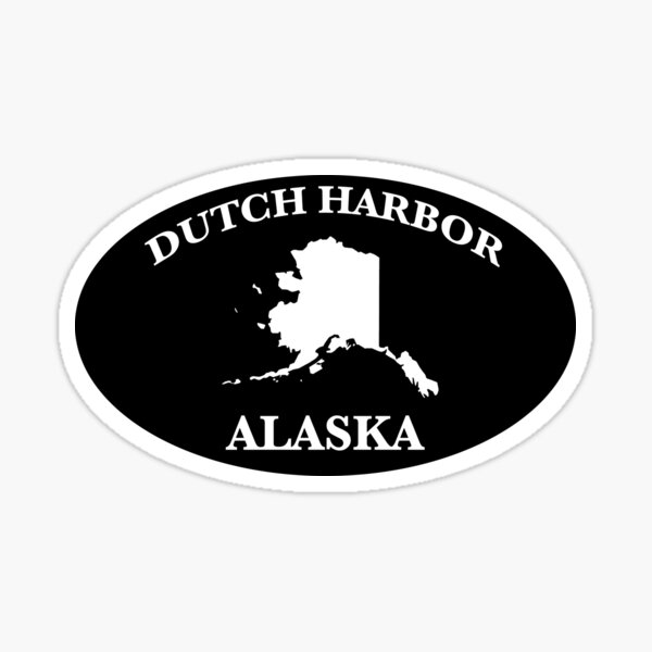 Dutch harbor alaska Sticker