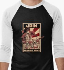 Join Hoshido!  Men's Baseball ¾ T-Shirt
