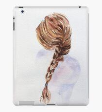Pretty Blond Woman  iPad Case/Skin