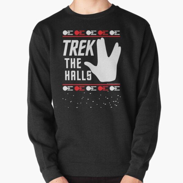 Star Trek The Halls Ugly Christmas Sweater Pullover Sweatshirt
