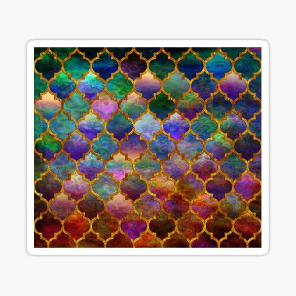 Arabic moroccan mosaic pattern Sticker