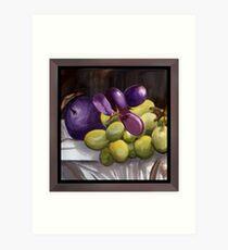 Magnum Grapes Art Print