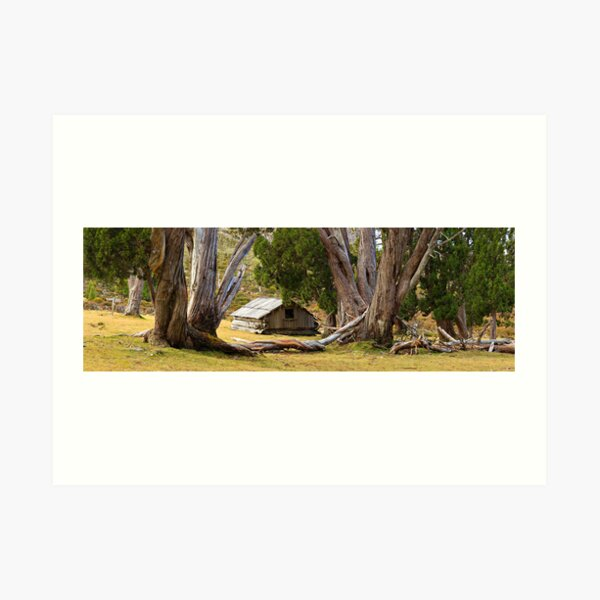 Dixons Kingdom Hut, Walls of Jerusalem, Australia Art Print