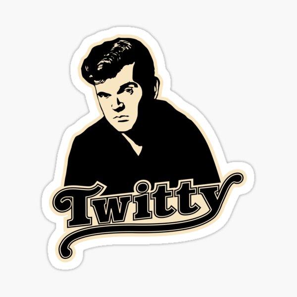 Conway Twitty Sticker