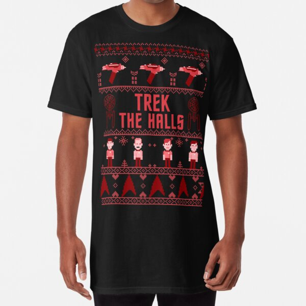 Star Trek The Halls Ugly Christmas Sweater