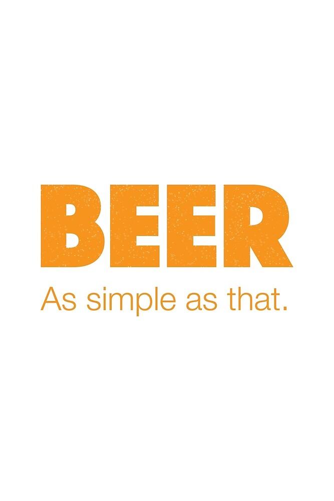 BEER - As simple as that by Richard Rabassa