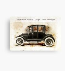 1914 Buick Coupe Canvas Print