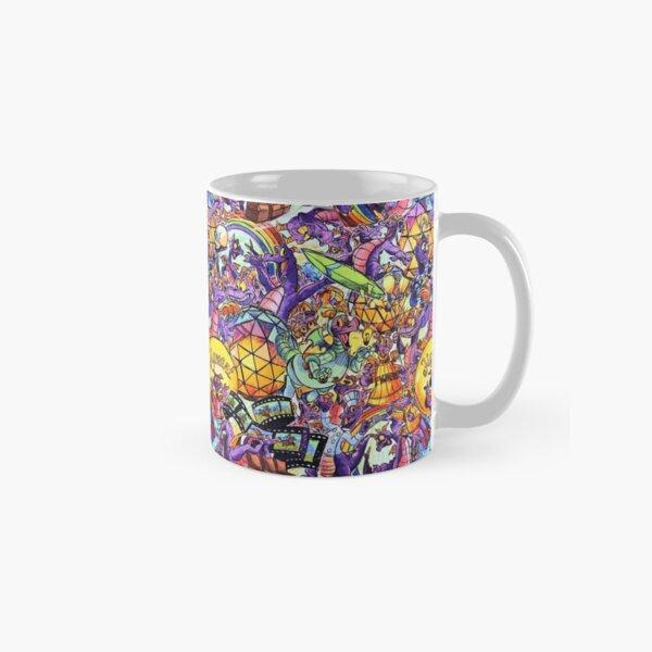 THE ORIGINAL Figment Collage Classic Mug