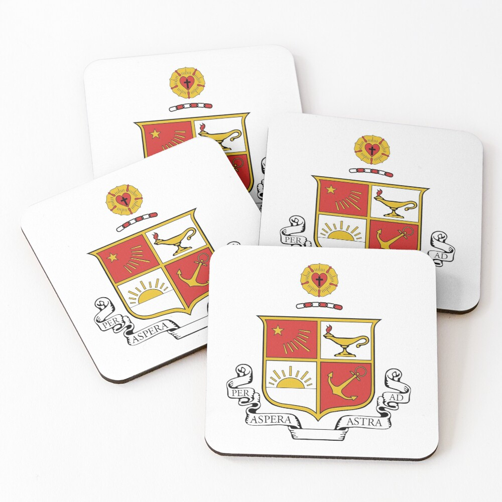 Beta Sigma Psi - Crest Coasters (Set of 4)