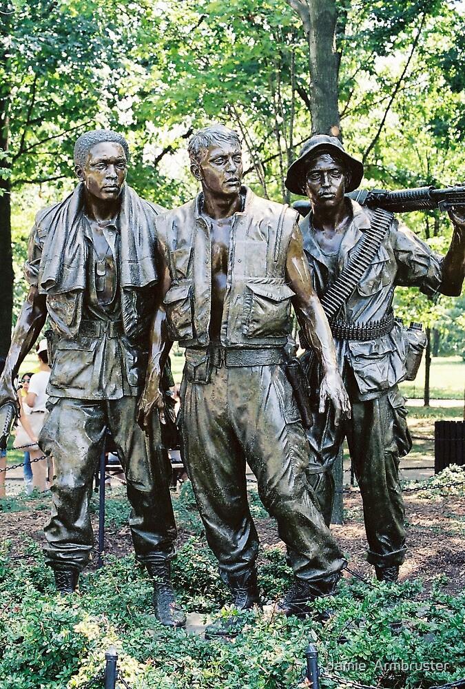 Three Soldiers Memorial by Jamie  Armbruster