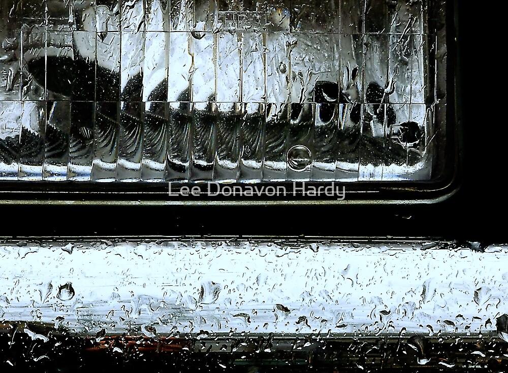 Headlamp-Rainy Day by Lee Donavon Hardy