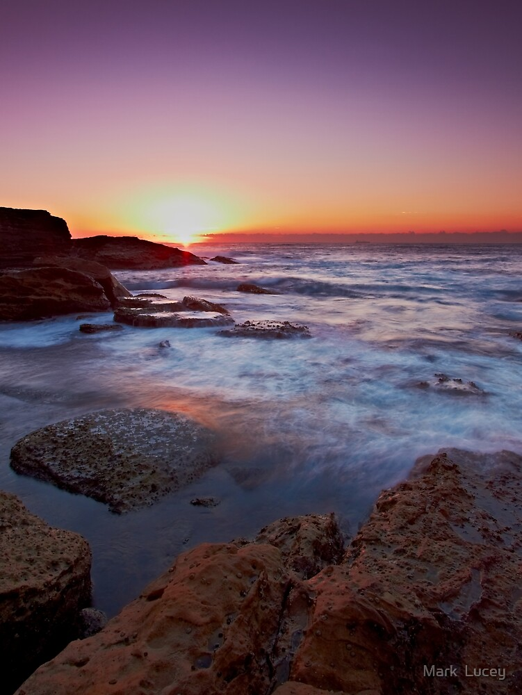 Light on the Rock by Mark  Lucey