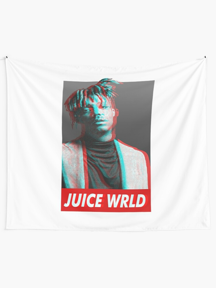 Juicewrld 999 Tapestries Juice WRLD art Wall Tapestry