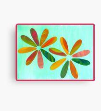 Painted Petals Canvas Print