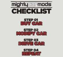 Mighty Mods Check List