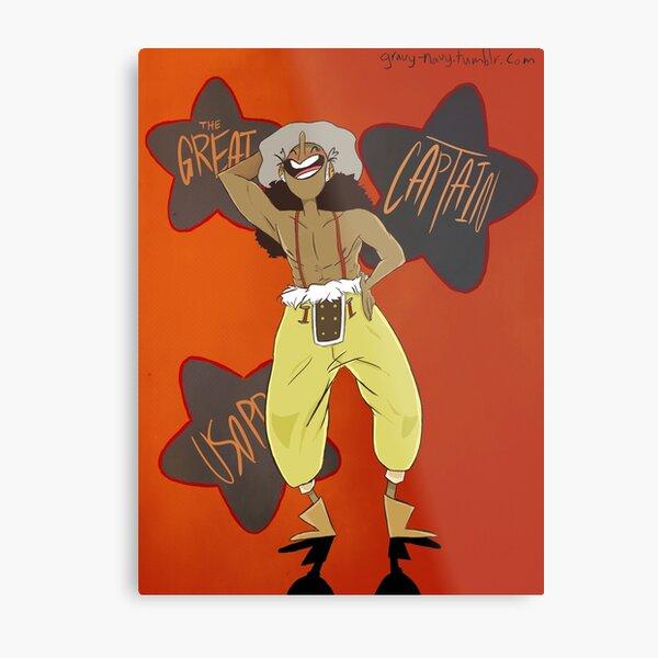 Usopp the Precious Cinnamon Roll Metal Print