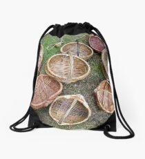 Baskets Drawstring Bag