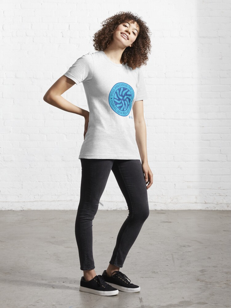 Alternate view of Too Precious to Lose Circle Essential T-Shirt