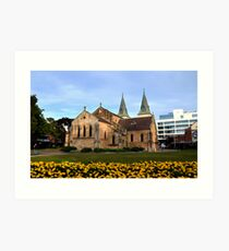 St Johns Cathedral Parramatta Art Print
