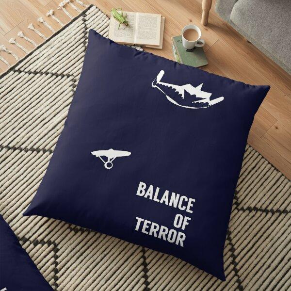 Balance of Terror Floor Pillow