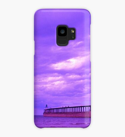 Whitby Seawall Case/Skin for Samsung Galaxy