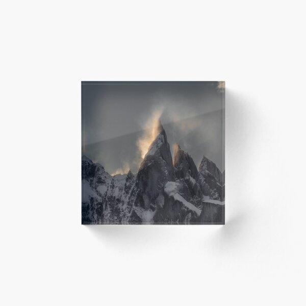 Cerro Torre Acrylic Block