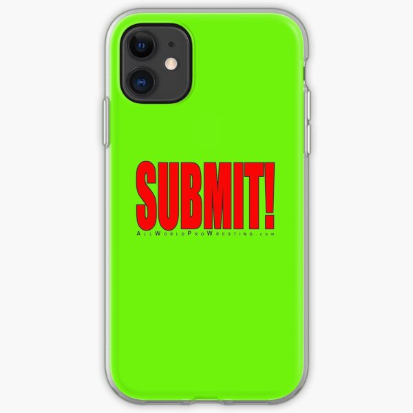SUBMIT! iPhone Soft Case