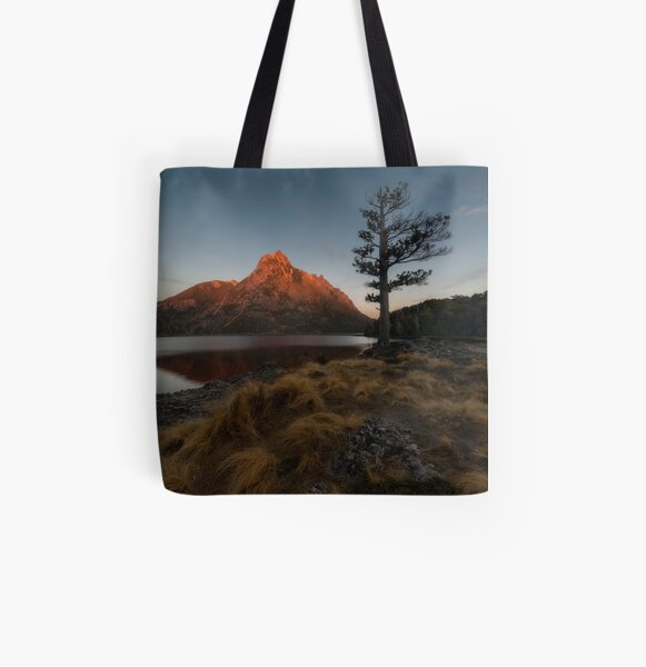 Glowing Calm All Over Print Tote Bag