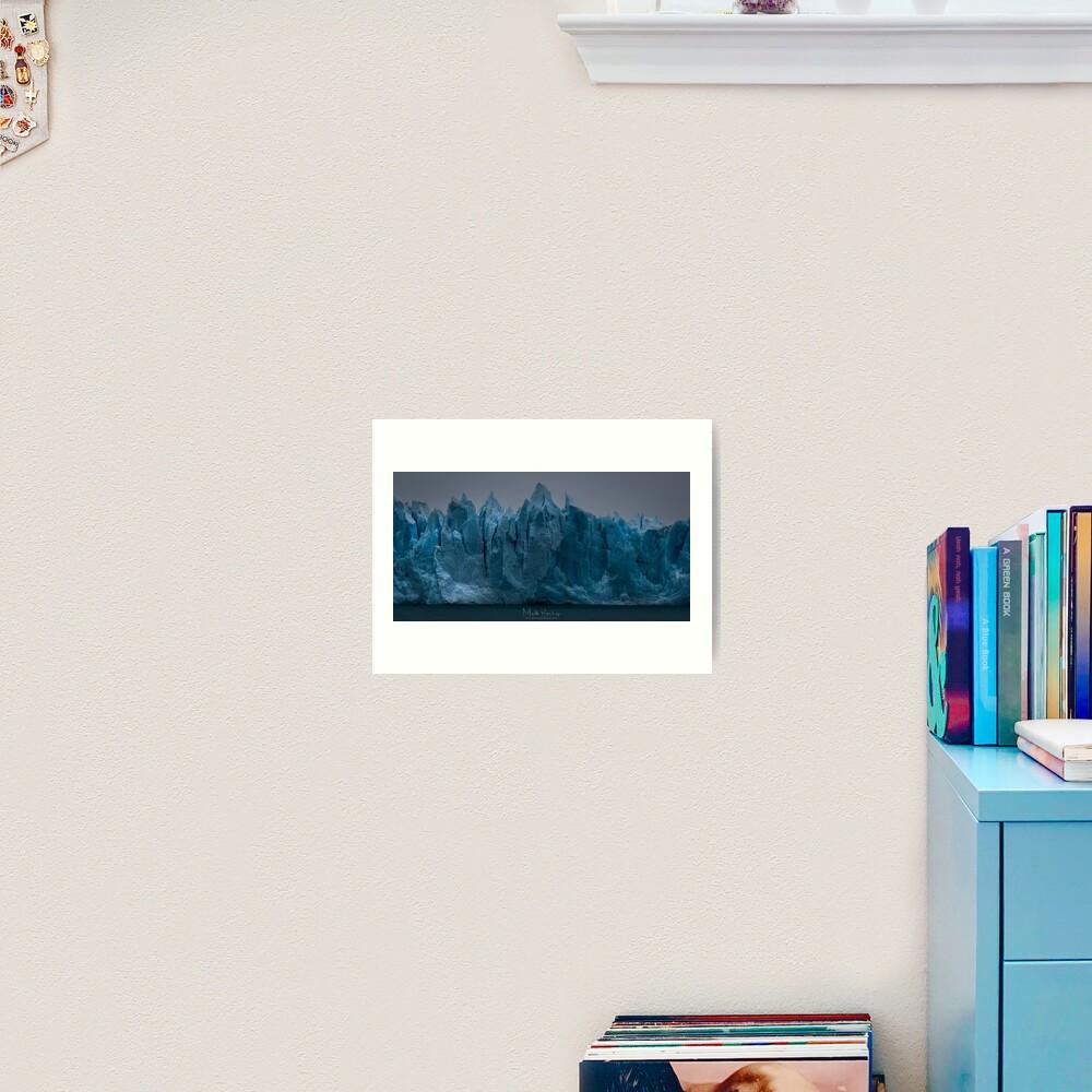 Prevalation of Perito  Moreno Art Print