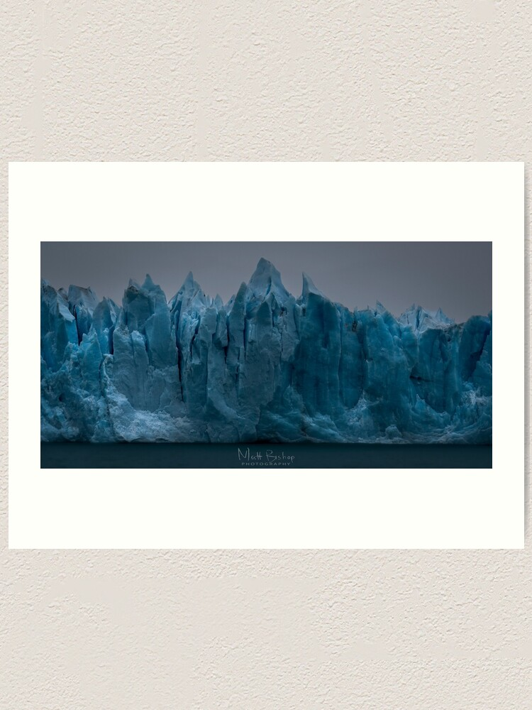 Alternate view of Prevalation of Perito  Moreno Art Print