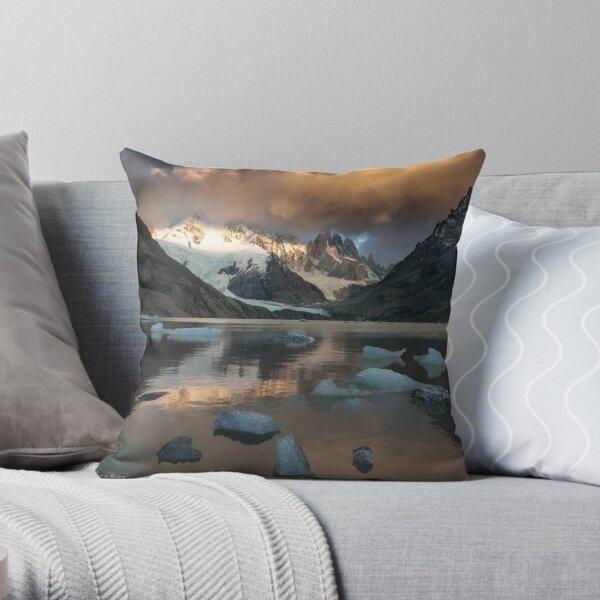 Tower Lake Throw Pillow
